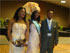 Miss Akwa Ibom 2009 with a Convention Delegate (Left) and Godwin Enyong (President, AKISAN Houston - Right)